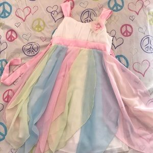 Dresses & Skirts - Pastel pink green and blue dress